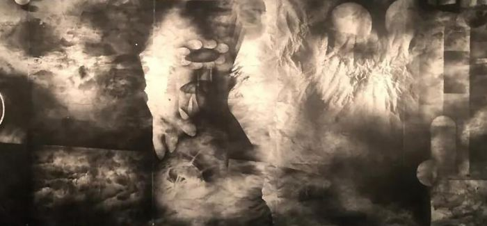 谷文达的回顾展于武汉合美术馆开幕