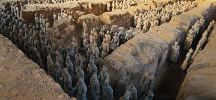 秦始皇帝陵兵马俑一号坑新发掘陶俑220余件