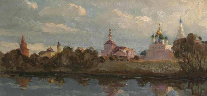 百余件俄罗斯油画雕塑作品在哈尔滨展出