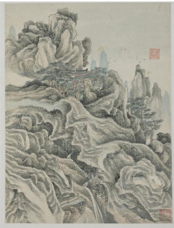 北宋王诜《烟江叠嶂图卷》领衔亮相上海博物馆