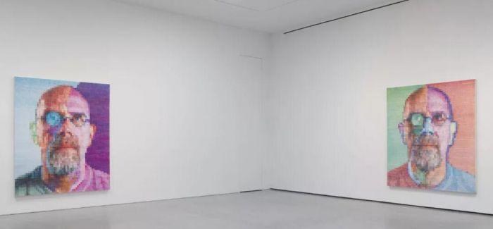 查克·克洛斯个展首次在佩斯香港画廊展出