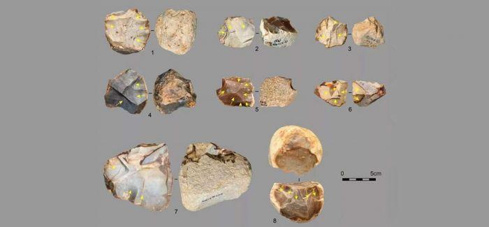 湖南临澧伞顶盖遗址出土大量优质燧石石器