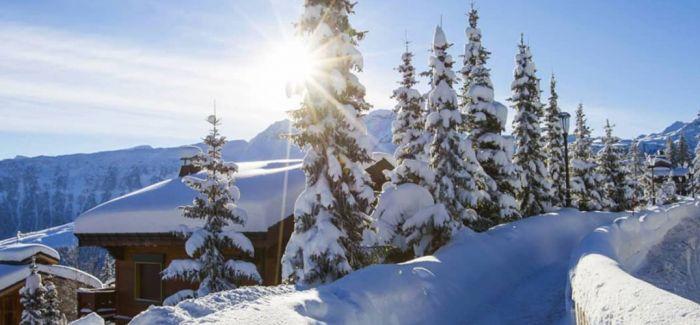 阿尔卑斯山中的神仙度假体验