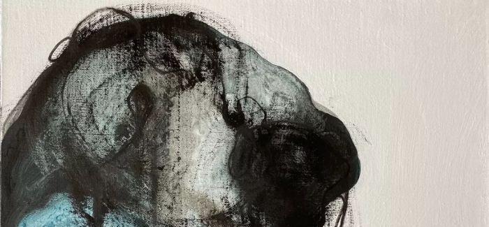 """超越物质生命体的感知:廖培绘画中的""""时间线条"""""""