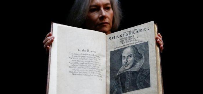 莎士比亚近400年前珍贵合集将以数千万被拍卖