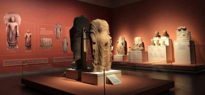 102件(套)朝北朝佛教造像成都博物馆展出