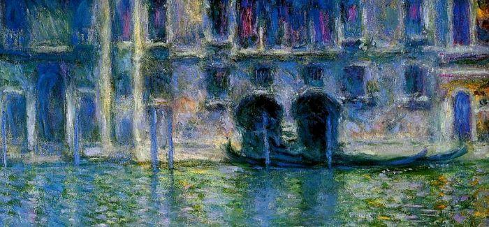 光影流转 莫奈笔下的威尼斯