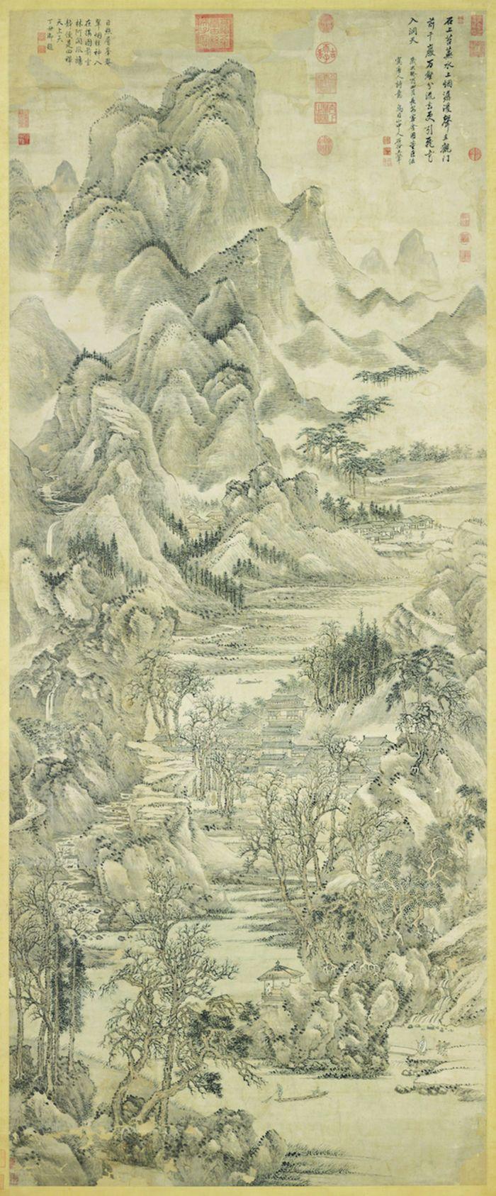 图3 清王翬《千岩万壑图》