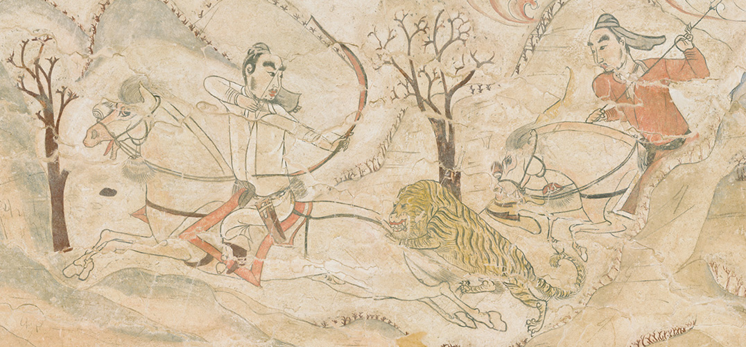 北朝壁画中的中国绘画史