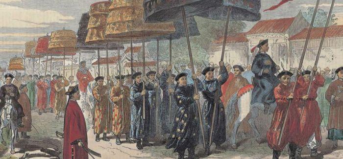 在西洋版画中品味古老的东方风情