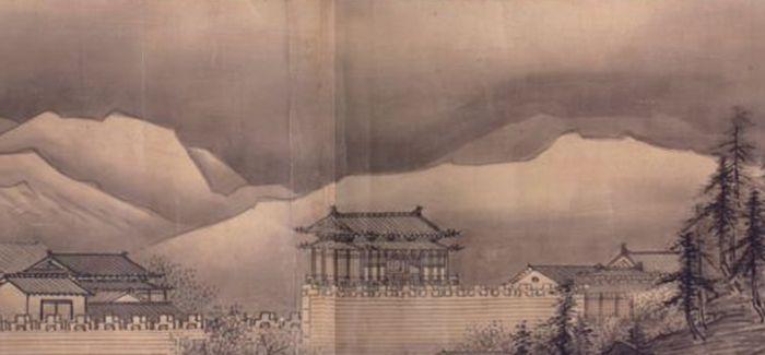 雪舟与中国山水之缘