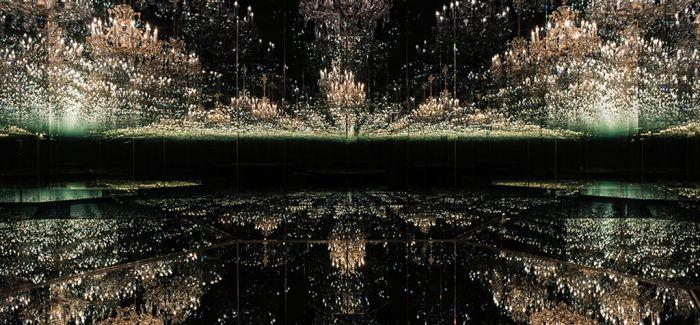 草间弥生《无限镜屋》现身伦敦泰特现代美术馆
