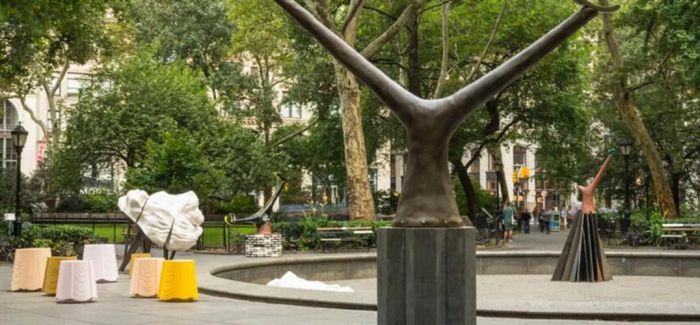 阿琳·舍切特雕塑作品首登纽约佩斯画廊