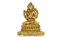 宫廷造像是2019西藏文物市场拍卖的硬通货