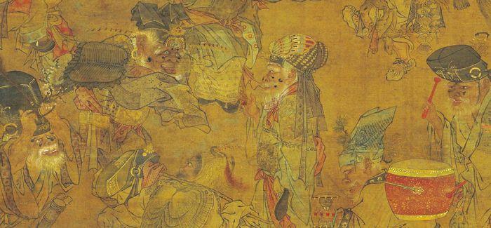 在《大傩图》中窥探古人的防疫之法