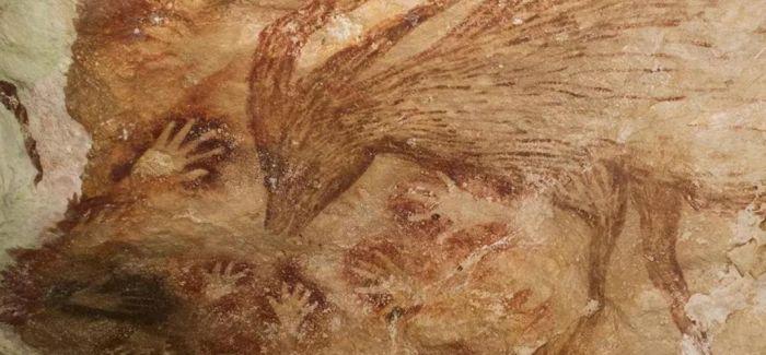 印尼4.4万年前史前洞穴壁画面临消失威胁