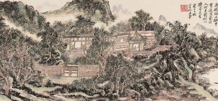 浅聊黄宾虹山水画的笔墨特征及意义