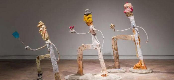 """在当代奥斯汀美术馆里""""狂飙""""的妮可·艾森曼"""