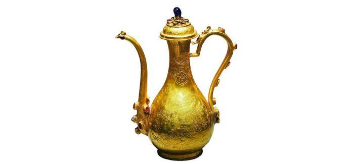 在中国古代文学中品读茶酒器具的形制