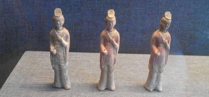 河北邯郸发现汉代陶俑 距今约2000年