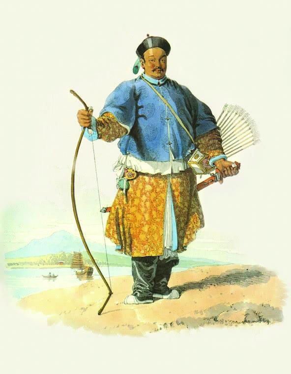 威廉·亚历山大《一名王姓贵族军官的画像》