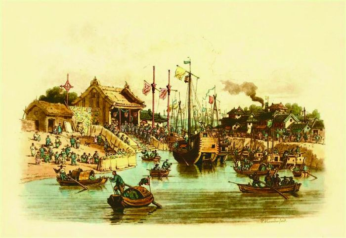 威廉·亚历山大的大清风俗画