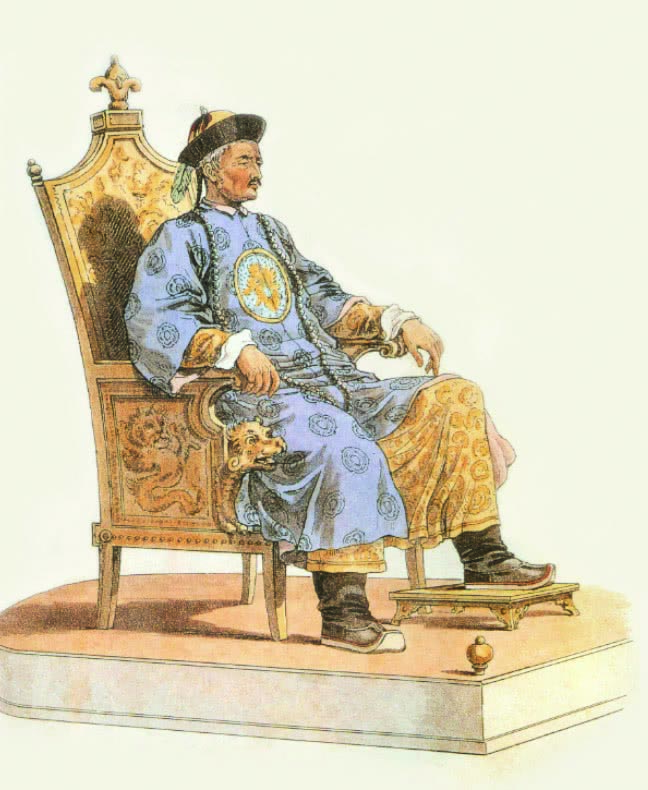 威廉·亚历山笔下83岁的乾隆帝