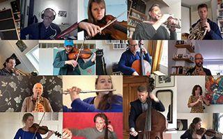 各地音乐家接力演奏《欢乐颂》