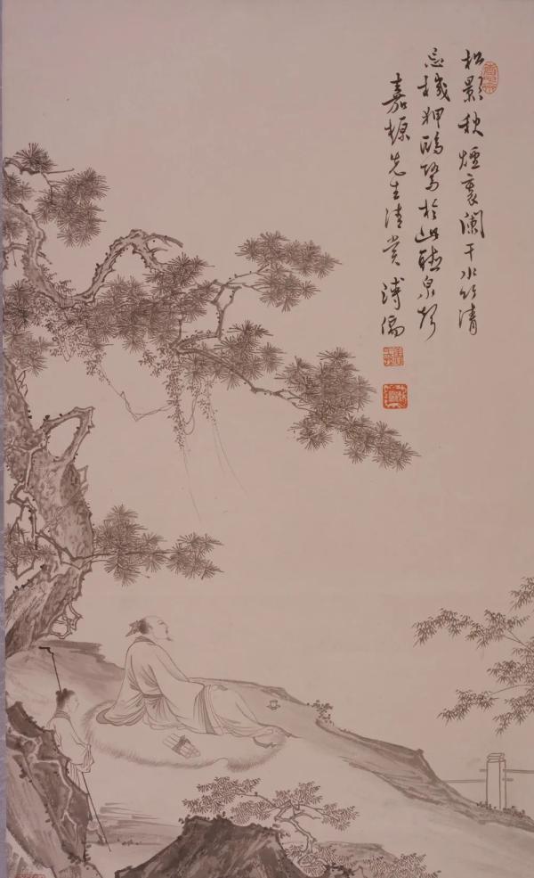 吉林省博物院藏'南張北溥'書畫特展 開展