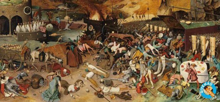 历史上 那些艺术家笔下的疫情