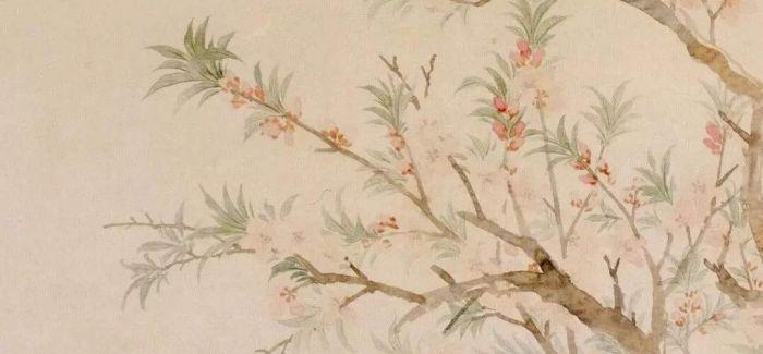 """那些以""""桃花""""为主题的古画古瓷"""