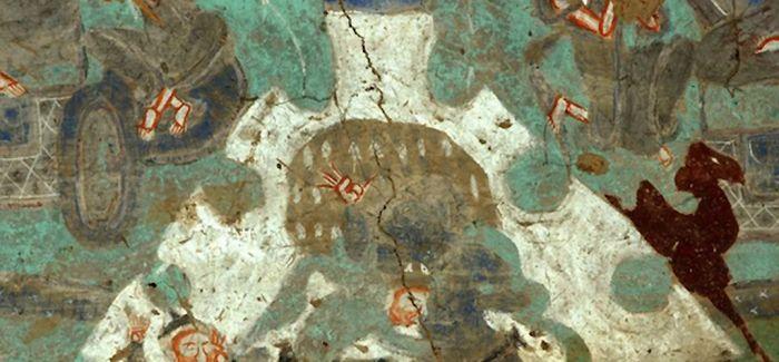 在龟兹壁画中探索丝路商旅的故事