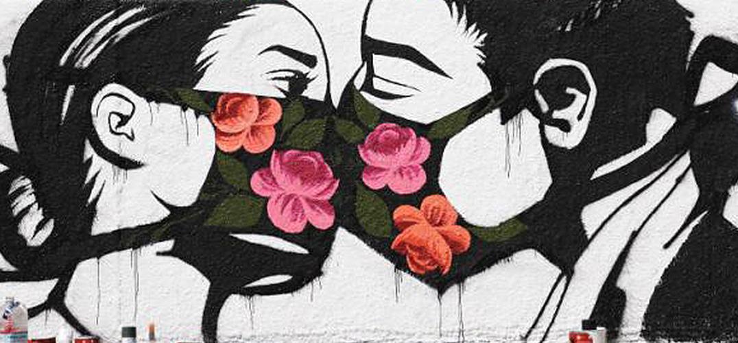 静观街头艺术对新冠疫情的回应