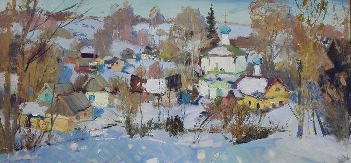 俄罗斯精品油画艺术展在哈尔滨美术馆开幕