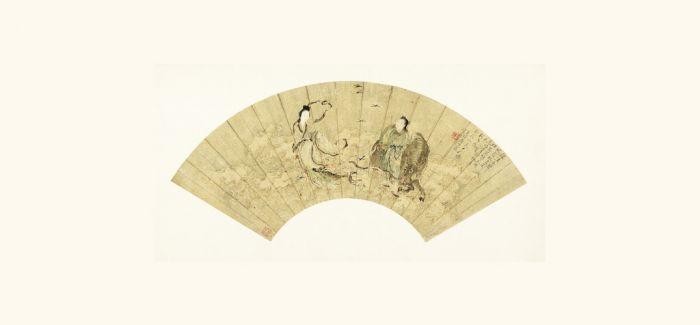 台北故宫博物院开展受赠书画