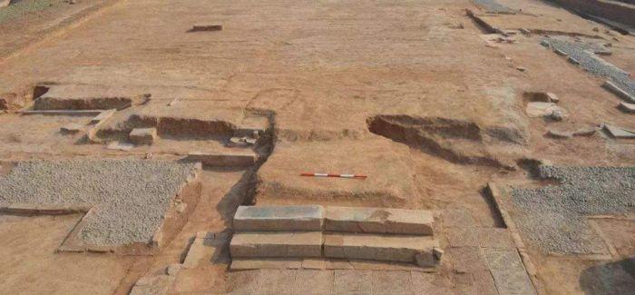 西安汉长安城遗址发现西汉建筑遗址