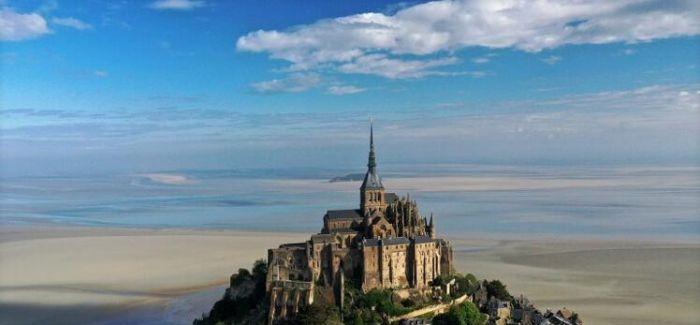 图片艺闻 | 法国圣米歇尔山因新冠疫情关闭