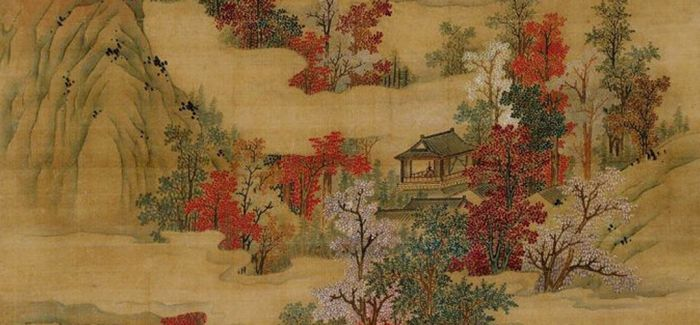 黄天厚土 白云红树