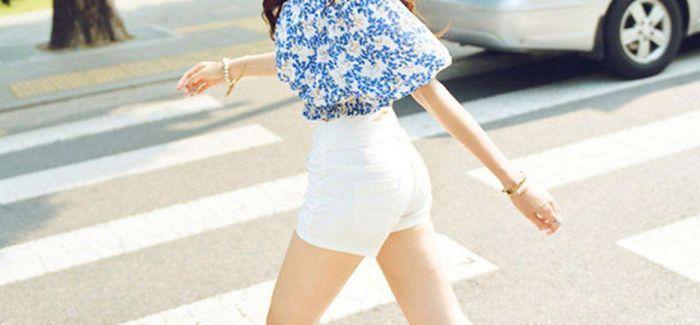 T恤+短裤 夏天必入!