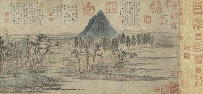 探索赵孟頫在山水作品中的隐情