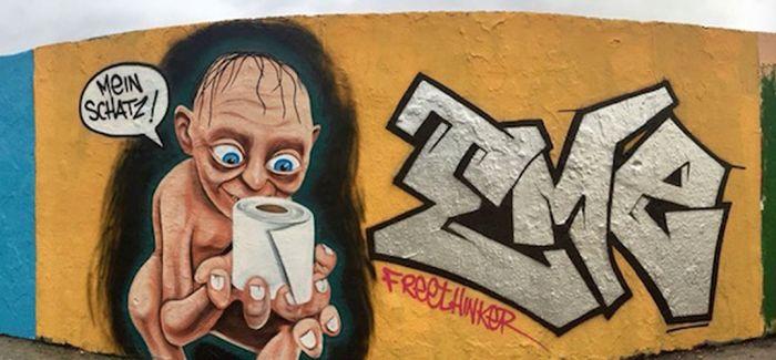 隔离中 看街头涂鸦艺术为社区点燃生机