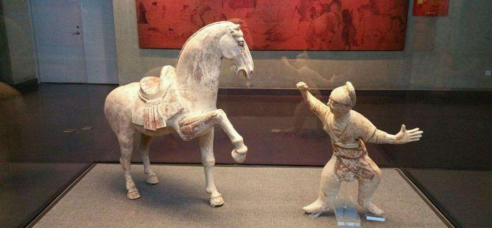60余幅壁画以及汉代陶器在洛阳博物馆展出