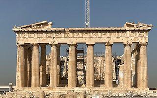 雅典卫城重新对外开放
