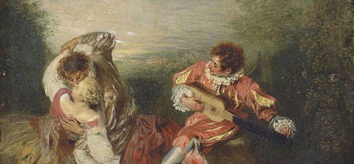 在绘画中 爱情是什么样呢?
