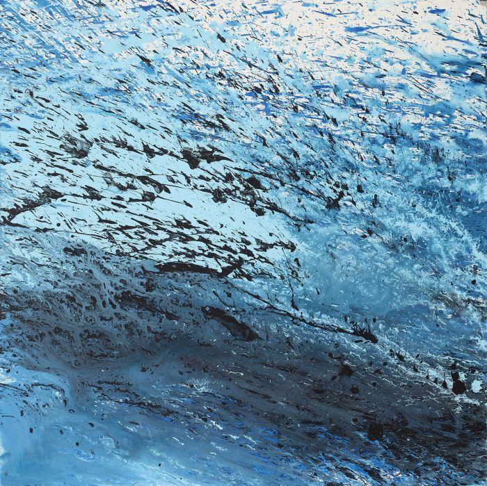 無題 untitled Aclyric on canvas  91cm91cm 2019 BQ0010的副本