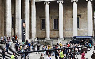 大英博物馆中 关于庞贝的传说