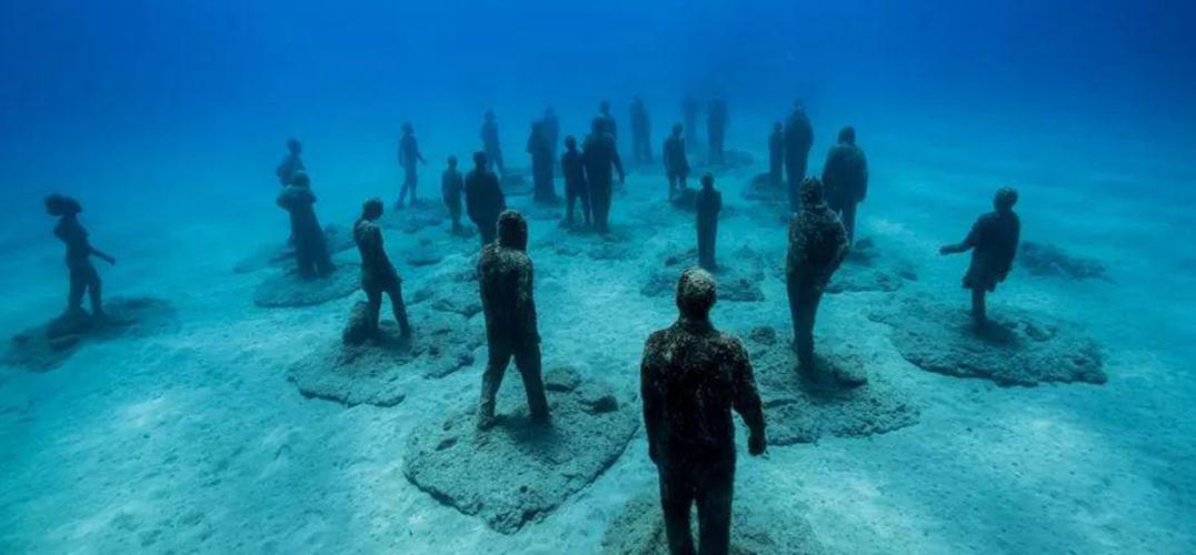 水下博物馆:引起人们对海洋生态的关注