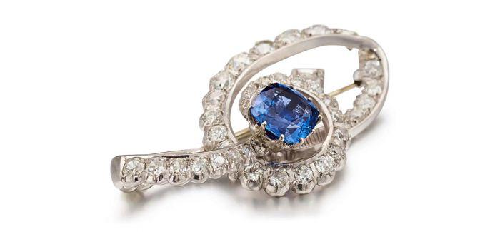 39.73卡拉钻石项链及耳环套装无底价网拍