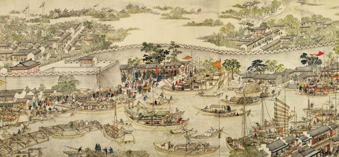 """解码文物中的""""江南风景"""""""