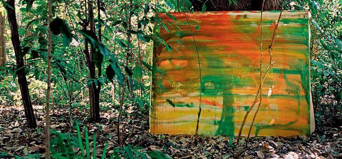 盛夏 以画入山林